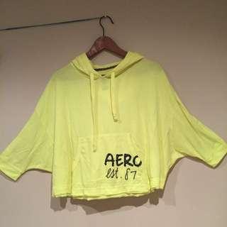Aero Hooded Crop Top