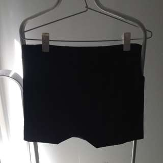 Bardot - Black Skirt - Size 8