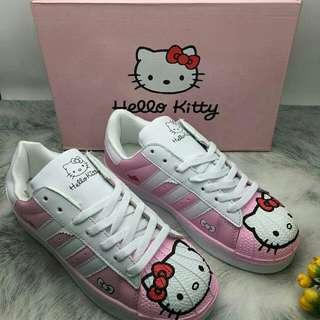 Hello Kity Pink Korean Shoes