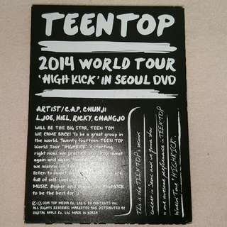 Teen Top 2014 World Tour