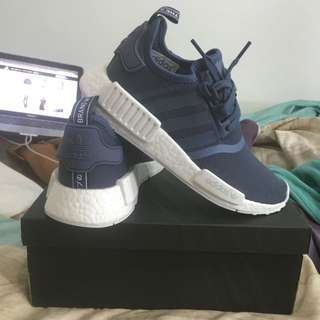 BRAND NEW SIZE 6 US ADIDAS NMD TECH INK/ WHITE