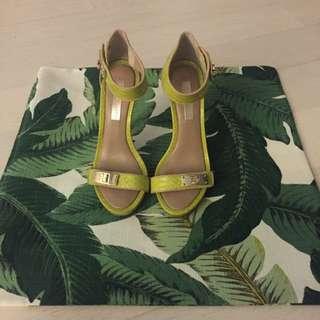 BCBG Light Green Sandals