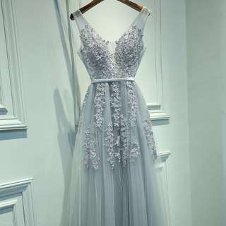 Gown Collection - Lovely & Sexy Lace Dinner Gown