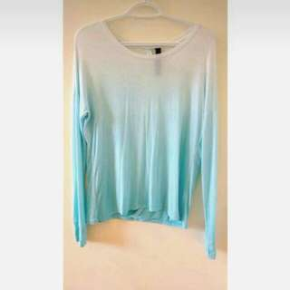 Long Sleeve Dip Dye Shirt