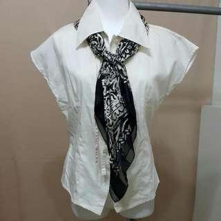 主婦二手日貨 BILLBLASS 絹巾 領巾 造型巾 披巾