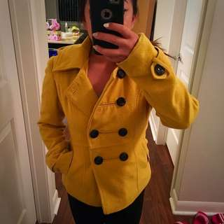 Yellow Fall Coat