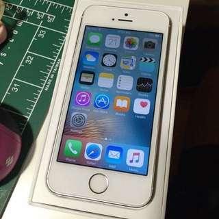 Unlocked iPhone5s 16GB Silver