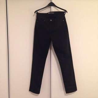Levi's 512 Black Skinny Leg Jeans