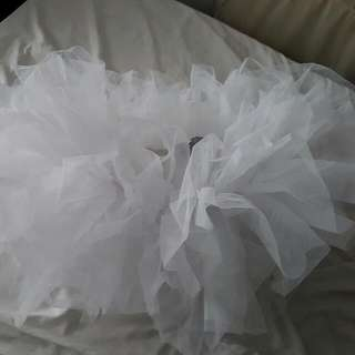 Tutu Skirt Costume  White