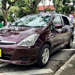 Toyota Wish Body Wanted