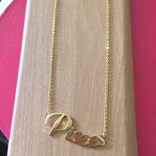 Pisces金色短鏈