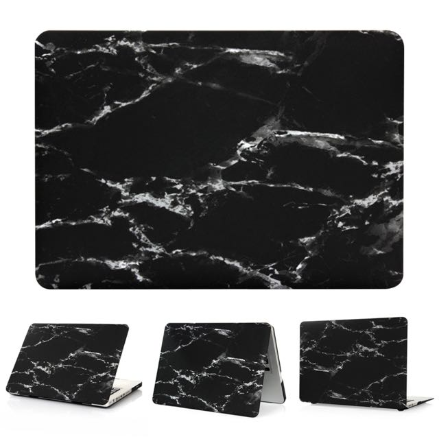 "13.3"" MacBook Air Rubber Marble Laptop Case"