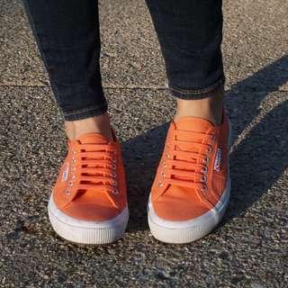 義大利國民鞋superga張孝全代言 好萊塢最愛 平底便鞋 美國限定麂皮款 原價2800心痛割愛