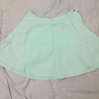 100% ORIG AMERICAN APPAREL MINT CORDUROY CIRCLE SKIRT