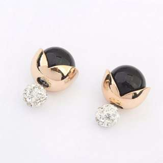 Anting Tusuk diamond decorated multilayer design forever21 dior inspired - 0A688E