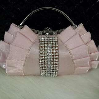 Pink Diamond Silky Purse