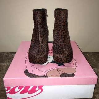 Faux Fur Ankie Boots Jeffrey Campbell