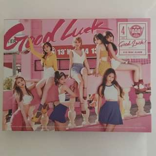 AOA - Good Luck (Weekend Version) No Photocard