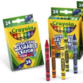 Crayola Ultraclean Washable Crayons, 24ct