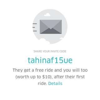 FREE UBER CODE/ $10 OFF FIRST RIDE