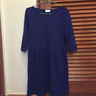 Patch Electric Blue Simple Overall
