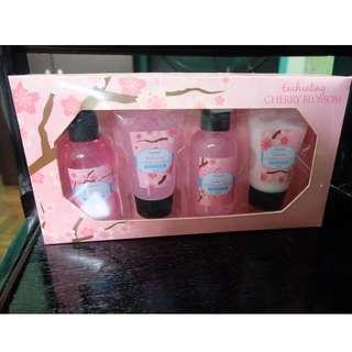 Cherry Blossom Bath Collection