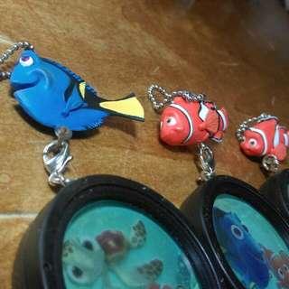 Yujin 絕版 稀有 海底總動員 多莉 尼莫 尼莫爸爸 馬林 扭蛋 轉蛋 迪士尼 Disney