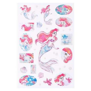 JAPAN DISNEYSTORE , JAPAN IMPORTED : Sticker Collection - Crystal Dream Little Mermaid