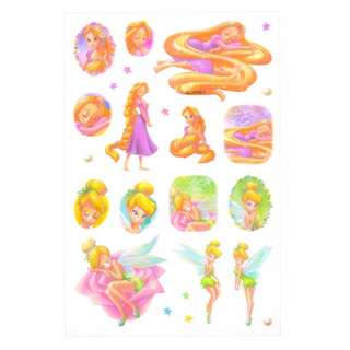 JAPAN DISNEYSTORE , JAPAN IMPORTED : Sticker Collection - Rapunzel & Tinkle Bell