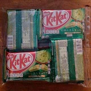 Kitkat Greentea 4 Finger