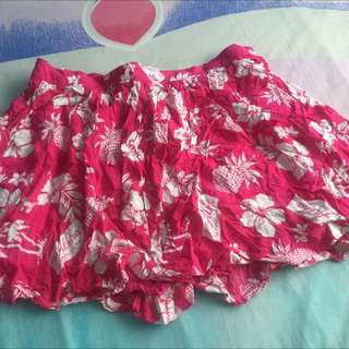 Hollister Hawaiian Miniskirt