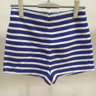 Forever 21 Stripes Short