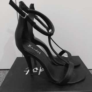 Bardot T bar Heels Size 8