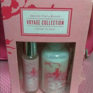 The Body Shop Japanese Blossom Vogage Collection