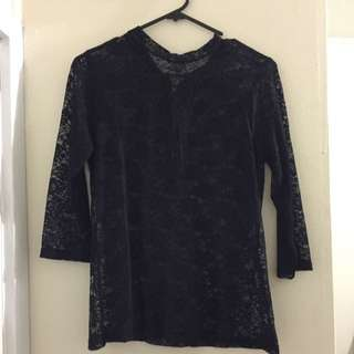 Long Sleeve Lace Dash By Kardashians
