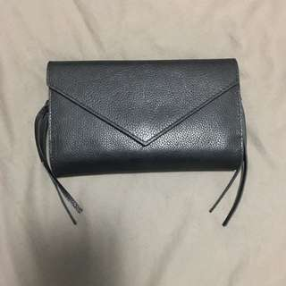Witchery Black Leather Wallet