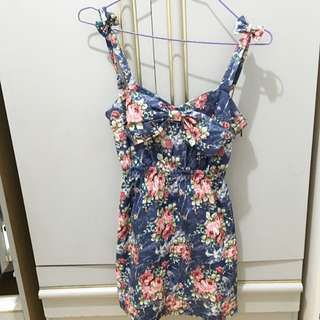 Baby Doll Dress (floral)