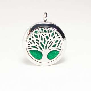 30mm Tree of Life Aromatherapy Necklace