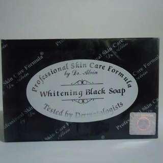 Dr. Alvin Black Whitening Soap
