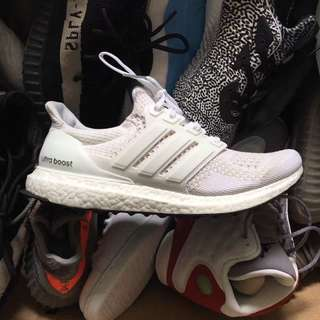 Adidas Ultral Boost Triple White