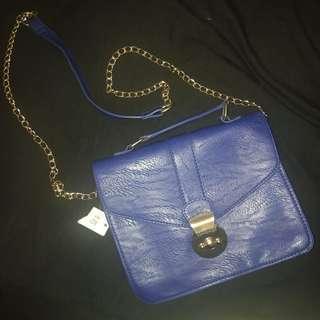 BLUE HANDBAG - VALLEYGIRL