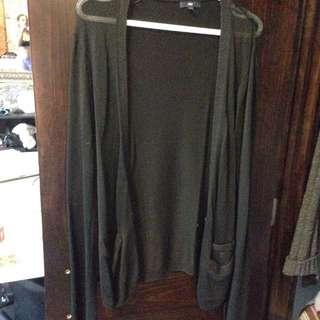 Gap Black Knit Cardigan