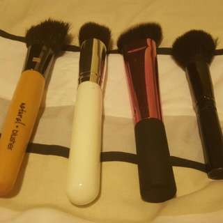 Variety Of Brushes