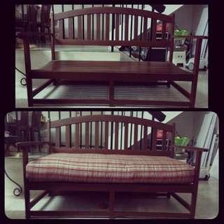 Solid Wood Bench (Indoor/Outdoor)