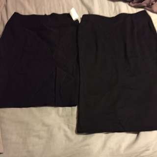 Black Pencil Skirts