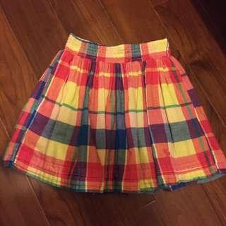 Abercrombie 格紋短裙