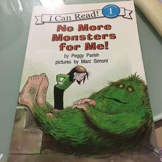 I Can Read Level 1 Book