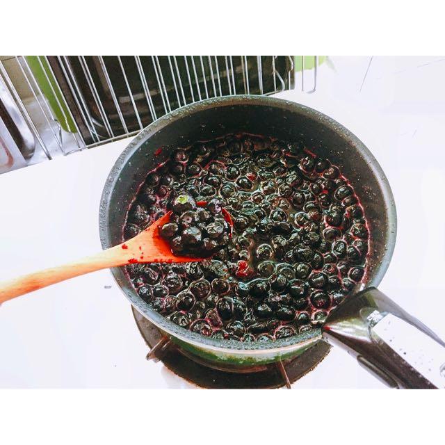 純天然手作 法式鮮藍莓果醬 不添加化學香精防腐劑 吐司優格良伴