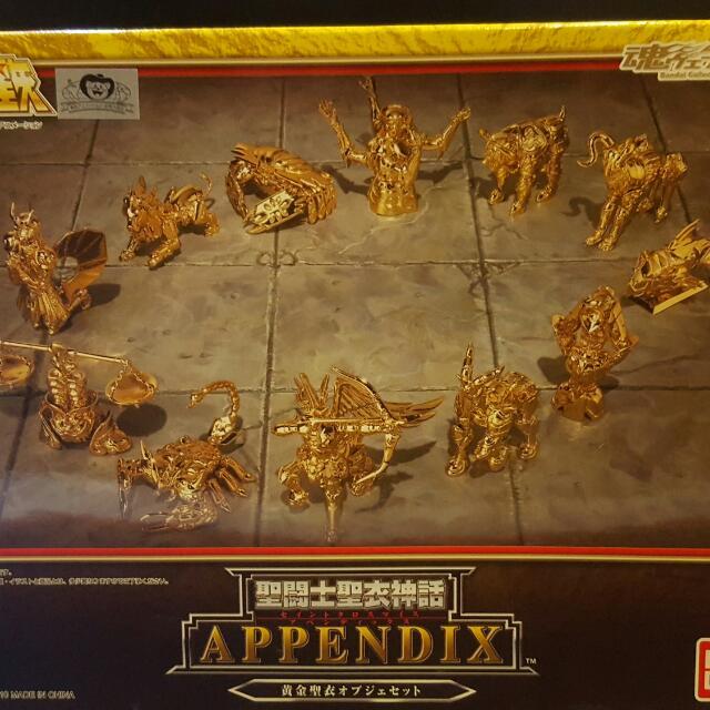 聖衣神話  Appendix 魂限定12黄金聖衣箱超像形態