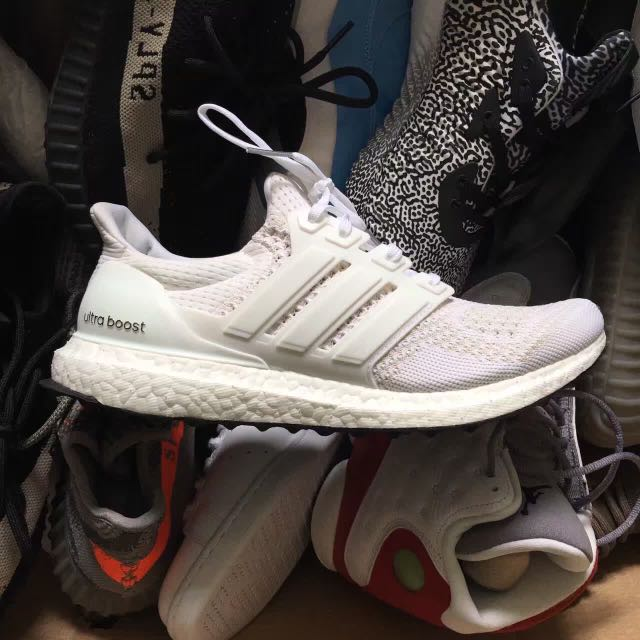 Adidas Ultral Boost Triple White